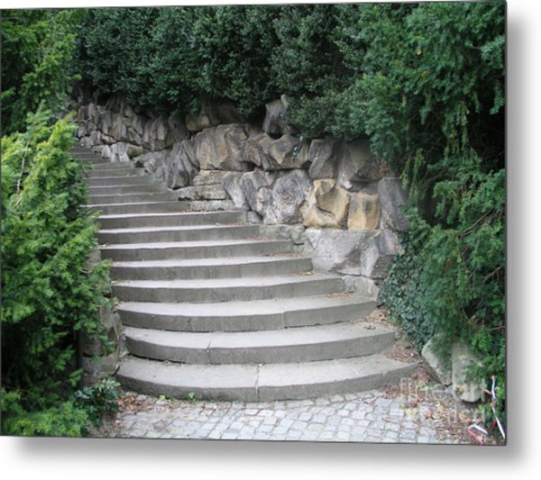Stairs To Happiness Metal Print