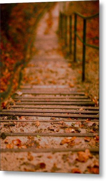 Stairs Metal Print by Vail Joy