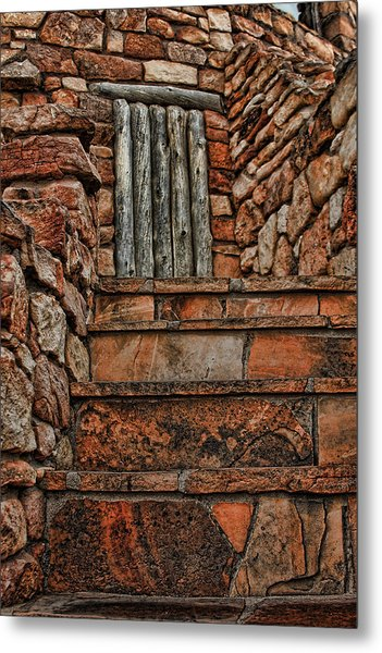 Stairsto Nowhere Metal Print