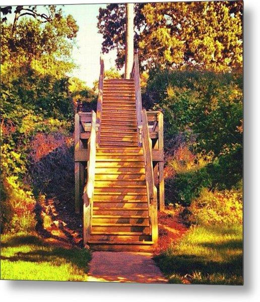 #stairway At The Bay :) #mobilebay Metal Print