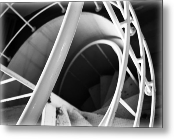 Stairway To Nowhere Metal Print by Kevin Lilly