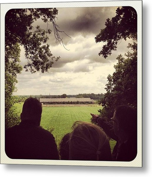 Standing On The Highest Point Of #venray Metal Print