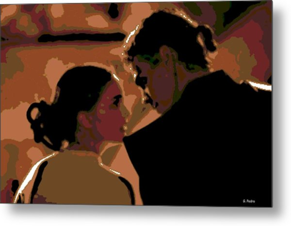 Star Crossed Lovers Metal Print