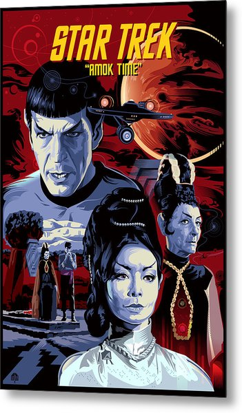 Star Trek Amok Time Metal Print