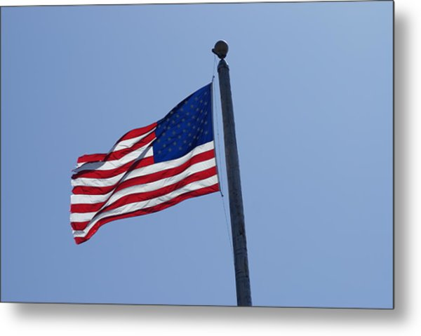 Stars And Stripes Metal Print by Jerry Cahill