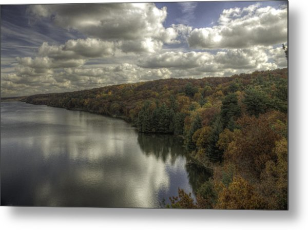 Starved Rock Fall Colors Metal Print