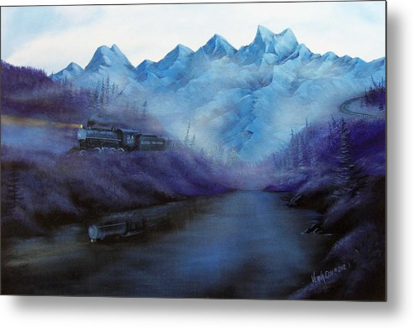 Steam  Smoke And Mist Metal Print by Verna Coy
