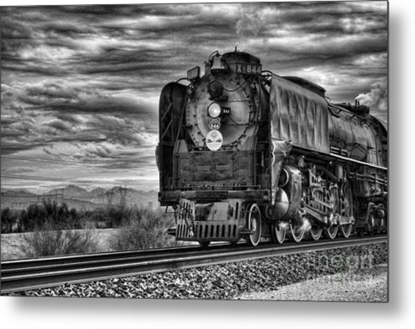 Steam Train No 844 - Iv Metal Print