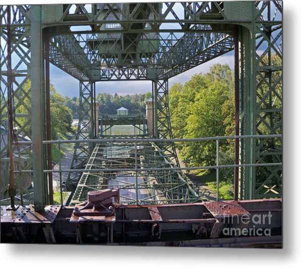 Steel Construction 2 Metal Print
