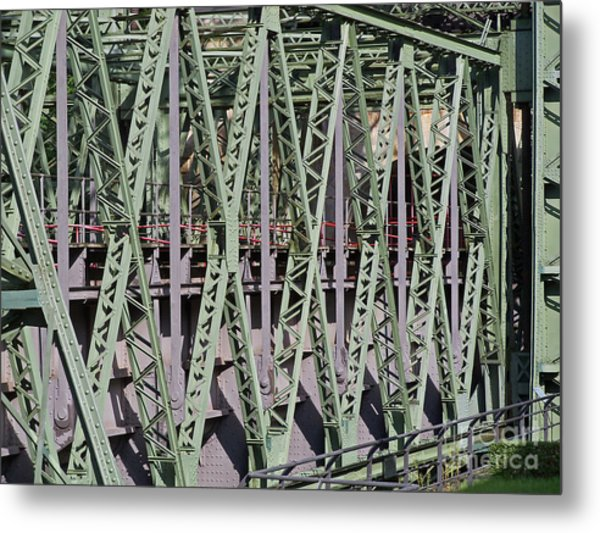 Steel Construction Metal Print