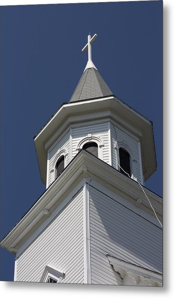Steeple Top Metal Print