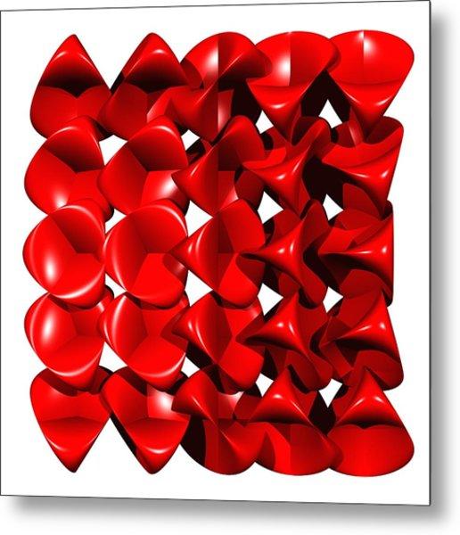 Steiner Surfaces Metal Print by Miroslav Skaloud