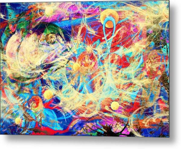 Stellar Wind Metal Print