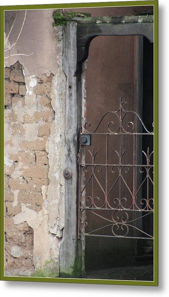 Step Into The Past Metal Print