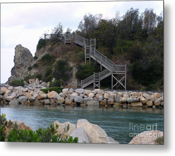 Step Up Metal Print by Joanne Kocwin