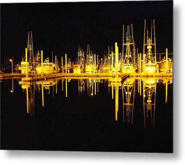 Still Of The Night Metal Print