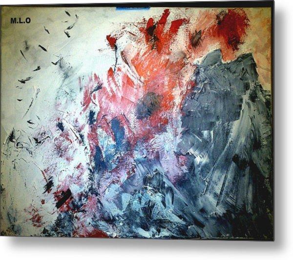Stolen Kisses Metal Print by Montserrat Lopez Ortiz