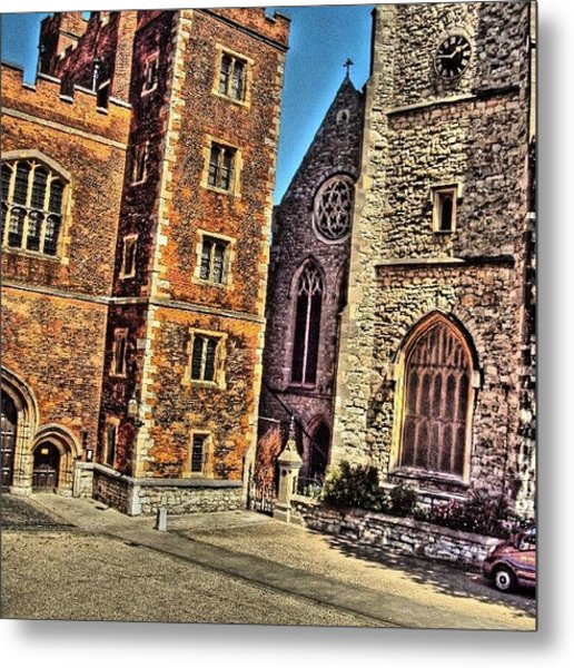 Stone Buildings, So Classic And Lovely Metal Print