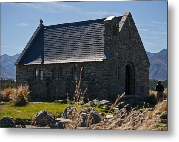 Stone Church Metal Print by Graeme Knox