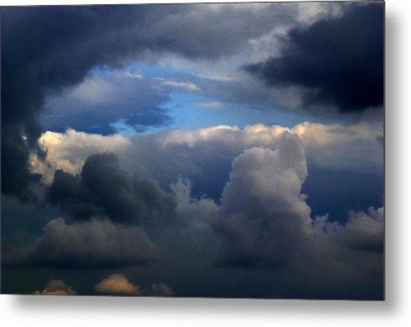 Storm Brewing Metal Print by Frank Blakely