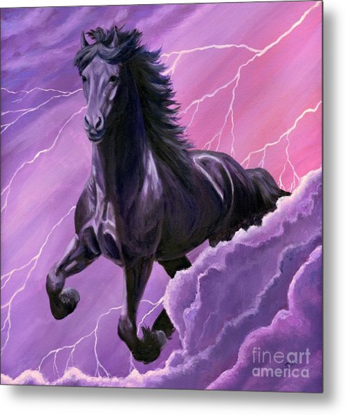 Storm Chaser Metal Print