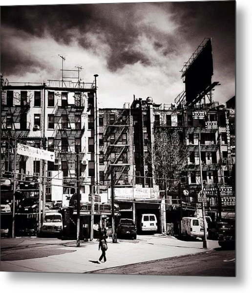 Storm Clouds - Chinatown - New York City Metal Print