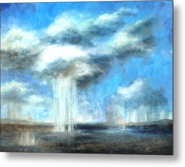 Storm's A Comin' Metal Print by Lisa Masters