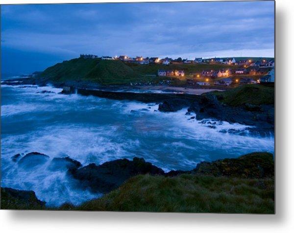 Stormy Coast, Scotland Metal Print by Duncan Shaw