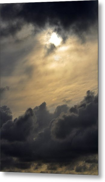 Stormy Skies Metal Print by Sarah McKoy