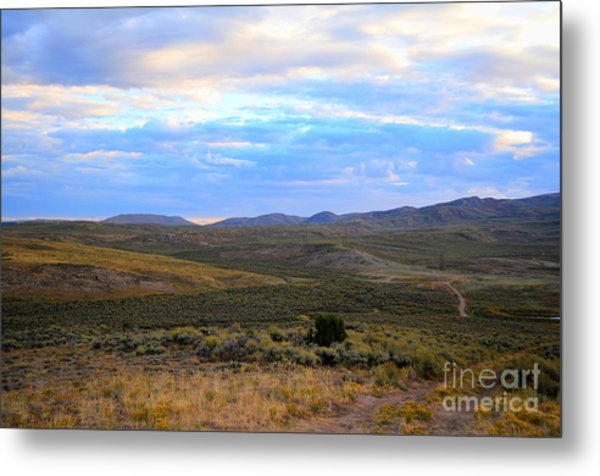 Stormy Wyoming Sunrise I Metal Print