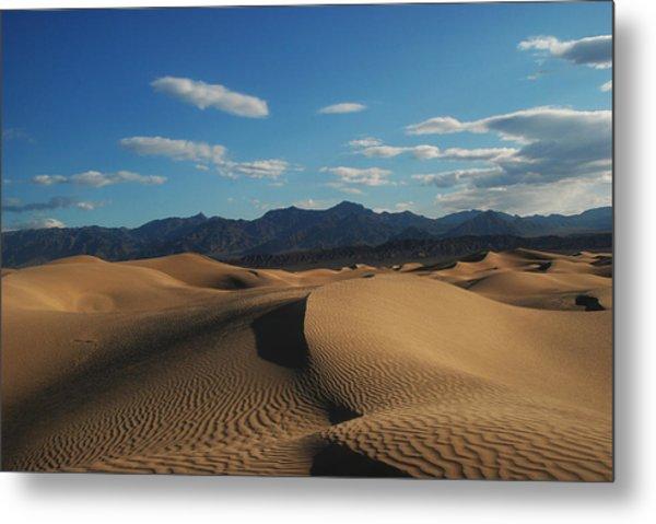Stovepipe Wells Dunes  Metal Print