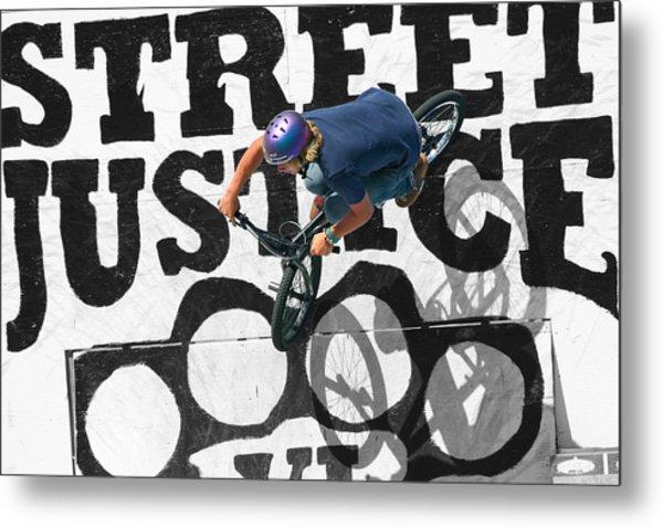 Street Justice Metal Print