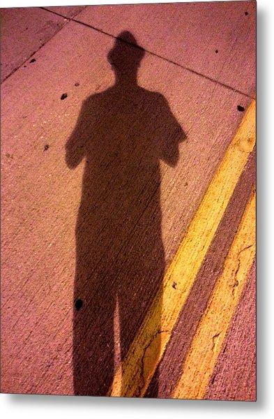 Street Shadows 001 Metal Print