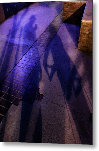 Street Shadows 004 Metal Print