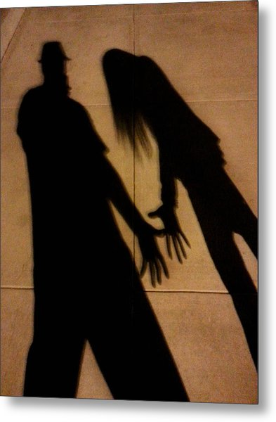 Street Shadows 006 Metal Print