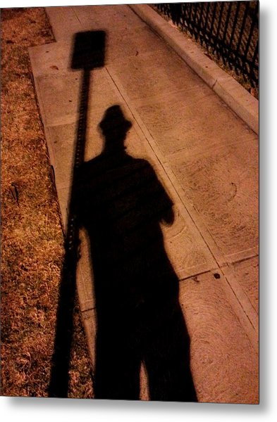 Street Shadows 008 Metal Print