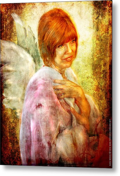 Sullivan. Angel Metal Print