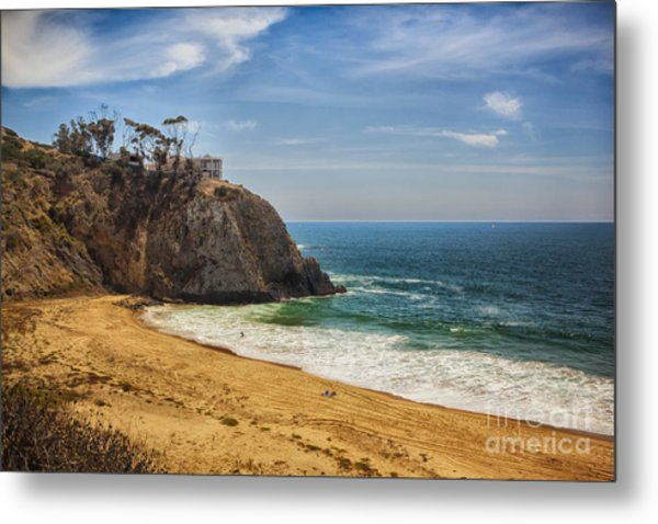 Summer At The Beach Metal Print