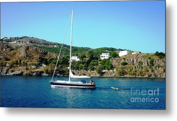 Summer Sailing Metal Print by Therese Alcorn