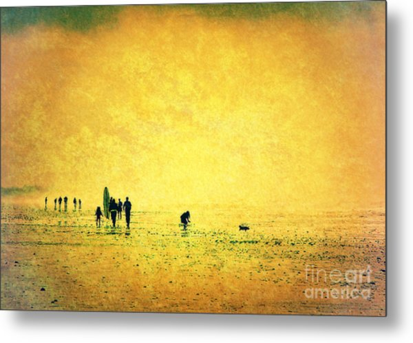 Summers End Metal Print