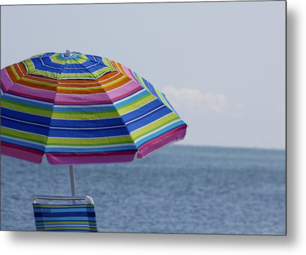 Summertime Metal Print by Amy Holmes