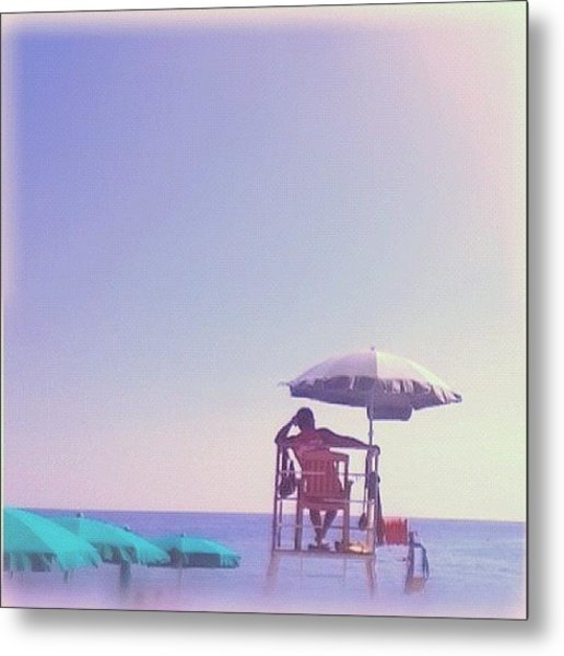 Summertime And Living Is Easy Metal Print