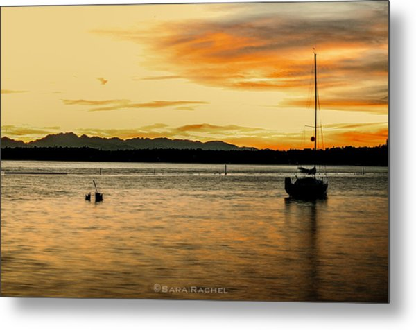 Sun Kissed Sky Metal Print by Sarai Rachel
