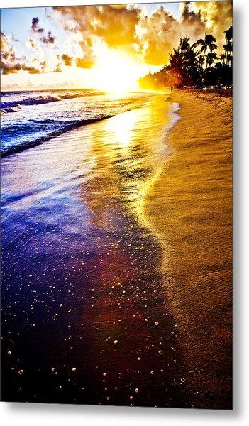 Sun Sand And Symphony Metal Print