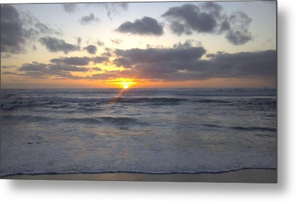 Sun Setting In Socal Metal Print by Anthony Anderson