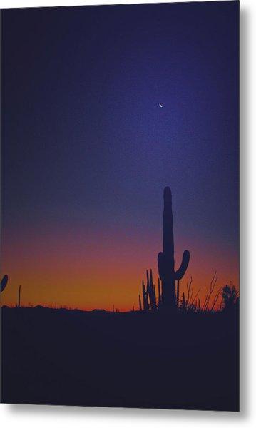 Sundown On The Desert 7746 Metal Print by J D  Whaley