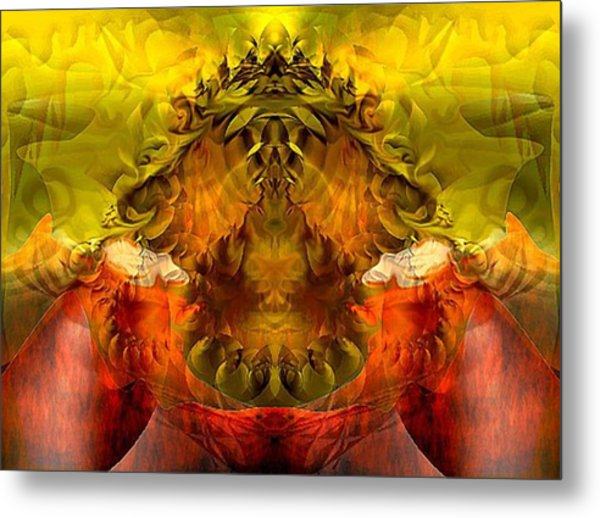 Sunflower Metal Print by Dave Kwinter