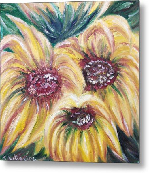 Sunflowers Metal Print by Irina Kalinkina