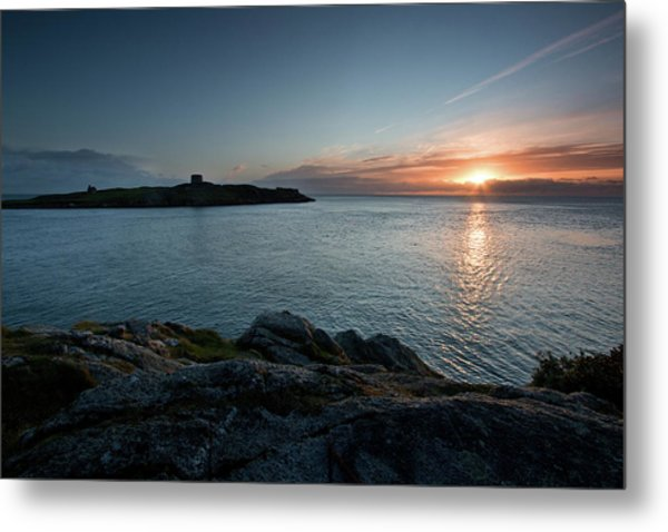 Sunrise At Dalkey Island Metal Print