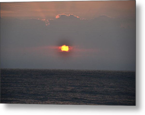 Sunrise In Melbourne Fla Metal Print